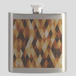 pleasant june,brown Flask