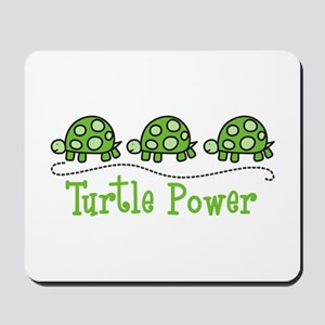 Turtle Power Mousepad