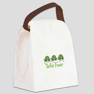 Turtle Power Canvas Lunch Bag