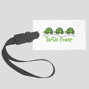 Turtle Power Luggage Tag