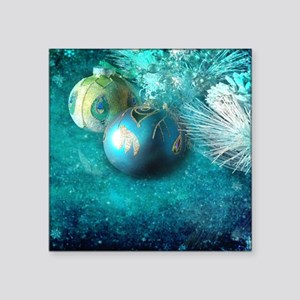colorful ornaments modern christmas Sticker