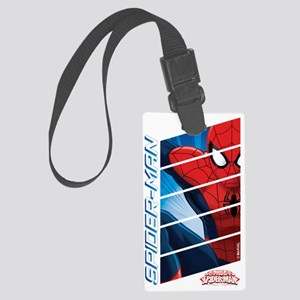 Spiderman Stack Large Luggage Tag