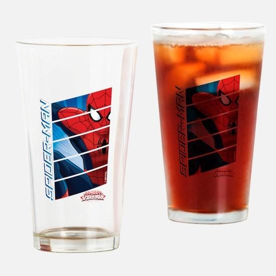 Spiderman Stack Drinking Glass