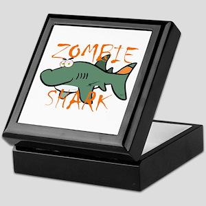 Zombie Shark Keepsake Box