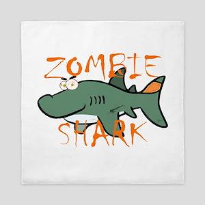 Zombie Shark Queen Duvet