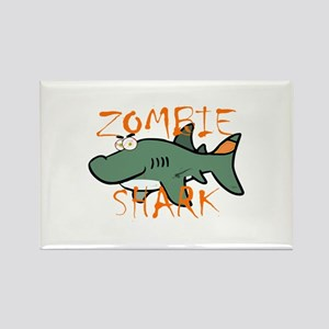 Zombie Shark Magnets