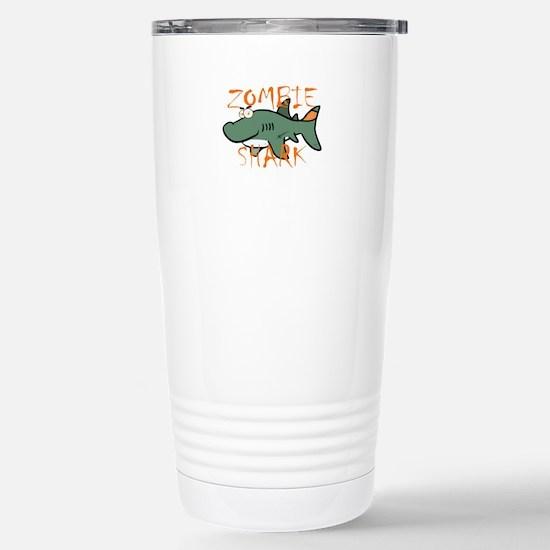 Zombie Shark Travel Mug