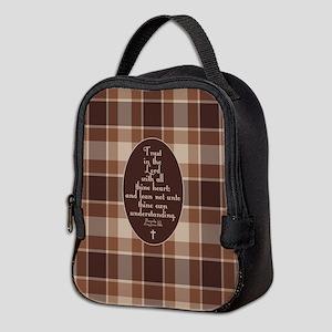 Proverbs 3:5 Bible Verse Neoprene Lunch Bag