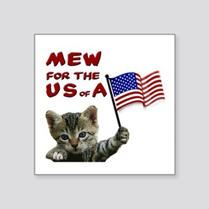 mew-for-the-usa Sticker