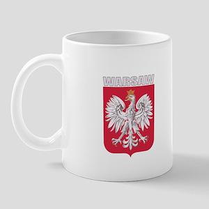 Warsaw, Poland Mug