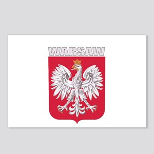 Warsaw, Poland Postcards (Package of 8)