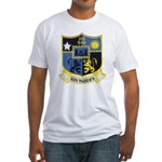 USS MANLEY Fitted T-Shirt