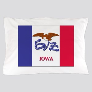 Flag of Iowa Pillow Case