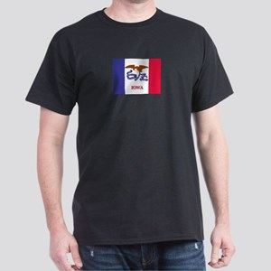 Flag of Iowa Dark T-Shirt