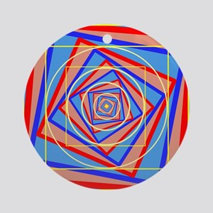 Eye Donut Ornament (Round)