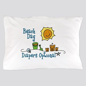 Beach Day Pillow Case