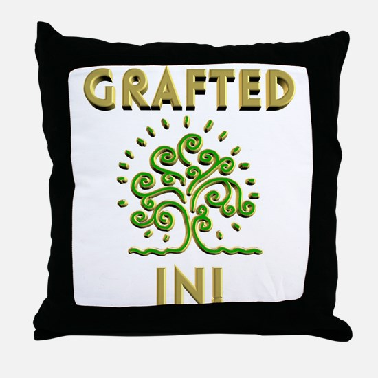 Grafted in 2 Throw Pillow