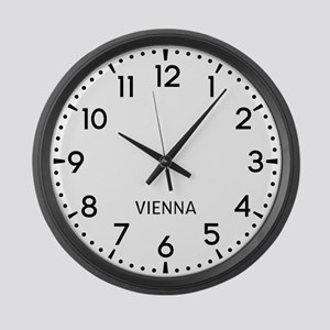 Vienna Newsroom Large Wall Clock