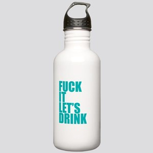 Let's Drink Stainless Water Bottle 1.0L