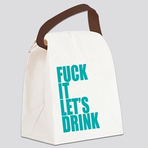Let's Drink Canvas Lunch Bag