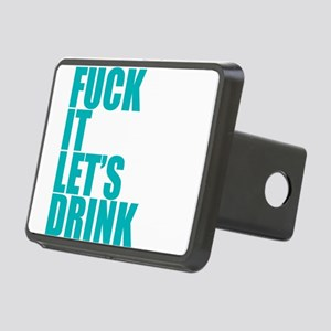 Let's Drink Rectangular Hitch Cover