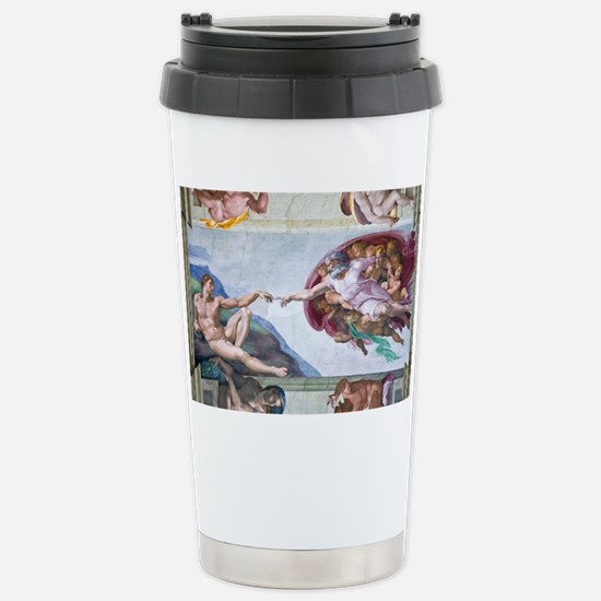 Michelangelo's S .Chape Stainless Steel Travel Mug