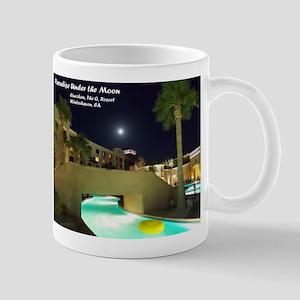 Paradise Under the Moon Mugs