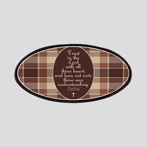 Proverbs 3:5 Bible Verse Patches