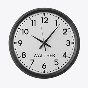 Walther Newsroom Large Wall Clock