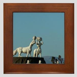 centaurs Framed Tile