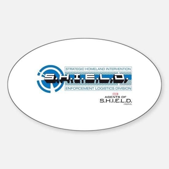 S.H.I.E.L.D. Logo Sticker (Oval)
