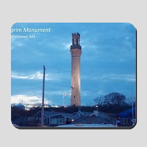 Pilgrim Tower Mousepad