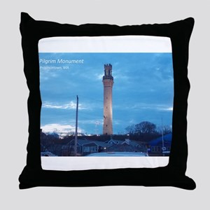 Pilgrim Tower Throw Pillow