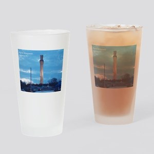 Pilgrim Tower Drinking Glass