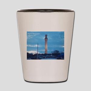 Pilgrim Tower Shot Glass