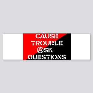 ask5x3rect_sticker Bumper Sticker