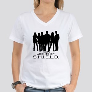 S.H.I.E.L.D. Group Women's V-Neck T-Shirt