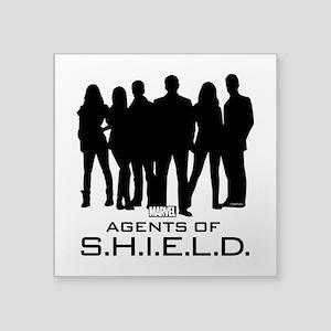 "S.H.I.E.L.D. Group Square Sticker 3"" x 3"""