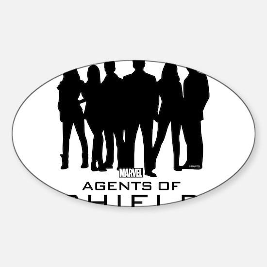 S.H.I.E.L.D. Group Sticker (Oval)
