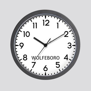 Wolfeboro Newsroom Wall Clock