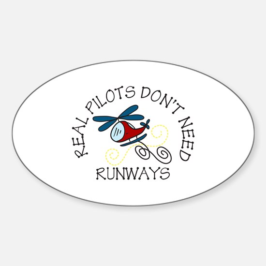 Real Pilots Stickers