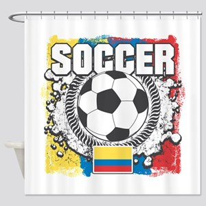 Columbia Soccer Shower Curtain