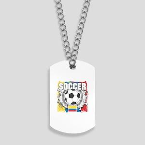 Columbia Soccer Dog Tags