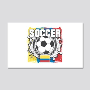 Columbia Soccer Car Magnet 20 x 12