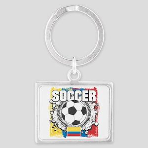 Columbia Soccer Landscape Keychain