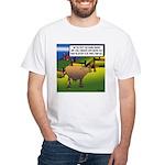 Environment Cartoon 9203 White T-Shirt