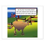 Environment Cartoon 9203 Small Poster