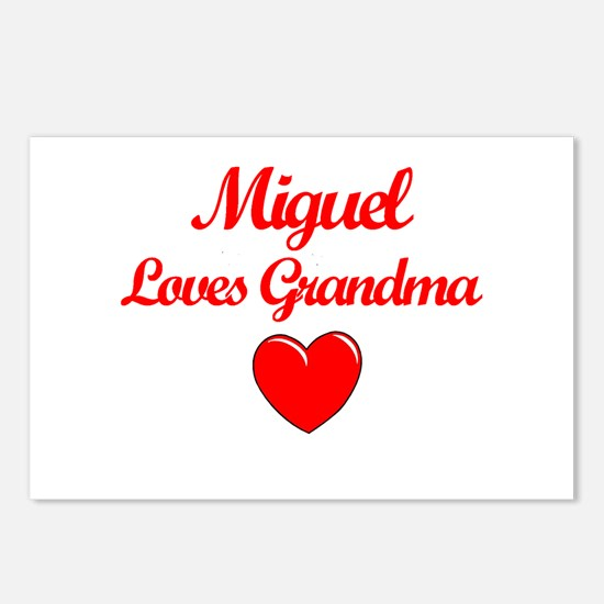 Miguel Loves Grandma Postcards (Package of 8)