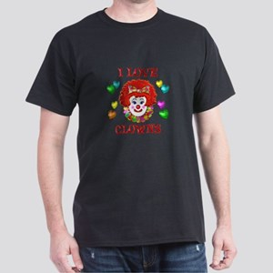I Love Clowns Dark T-Shirt