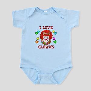 I Love Clowns Infant Bodysuit